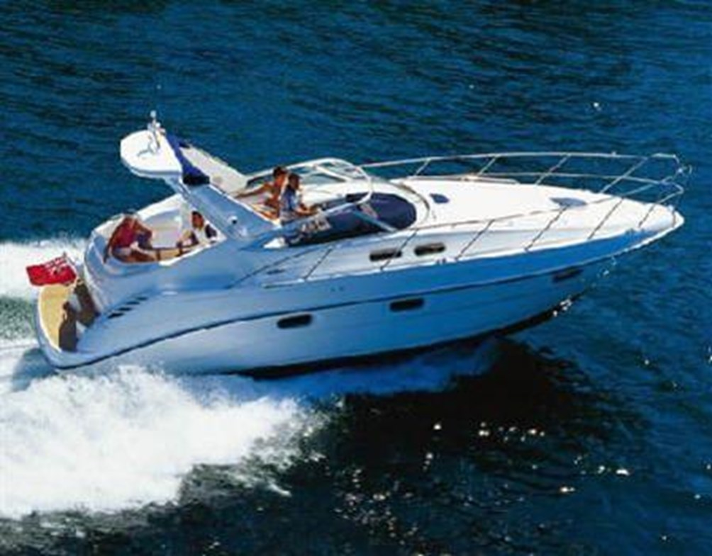 Sealine s34 open motor yacht for sale in greece with for Motor boat rental greece
